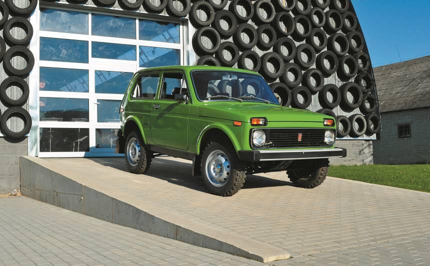 Motormuzeja retro auto - <strong>VAZ-2121 Ņiva</strong> leģendas ceļš