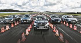 <strong>Vidējās klases SUV</strong> ar pilnpiedziņu un dīzeļdzinēju — vai <strong><em>BMW X3</em></strong> uzvarēs?