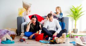 Kārtība un bērni mājās. <strong>Vai tas ir iespējams?</strong>