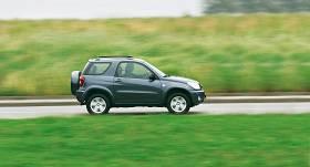 Četri <strong>uzticami japāņu SUV</strong>, kas pieejami par 3500 eiro
