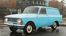Motormuzeja retro auto – Moskvich 434 <strong>komjauniešiem un eksportam</strong>