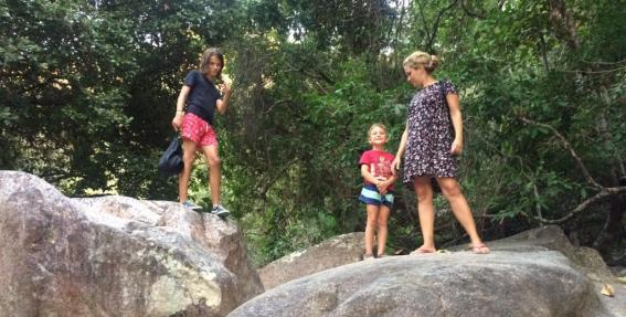 <strong>Ar diviem bērniem Meksikā.</strong> 1. daļa