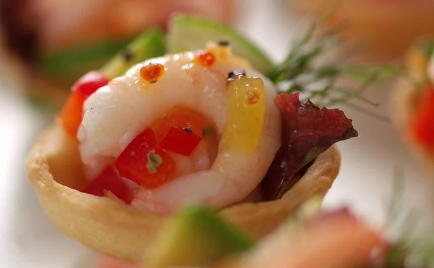 Čaumaliņas ar jūras veltēm recepte