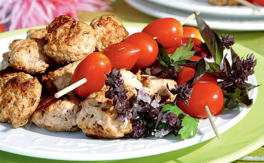Kabaču un maltās gaļas kotletītes recepte