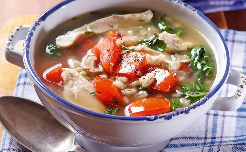 Vistas zupa ar grūbām recepte