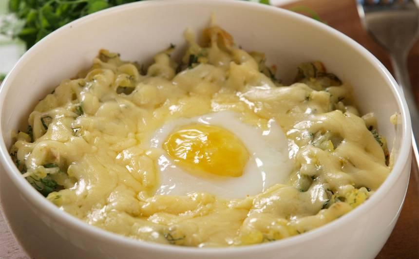 Vēršacs ola kartupeļos