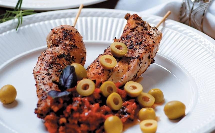 Vistas filejas ar tomātu pesto recepte