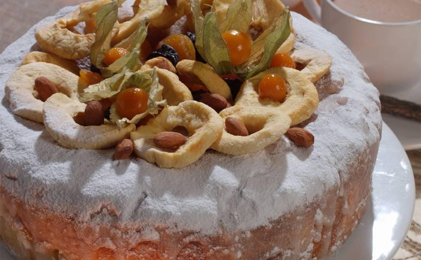 Aromātiskā franču kūka recepte