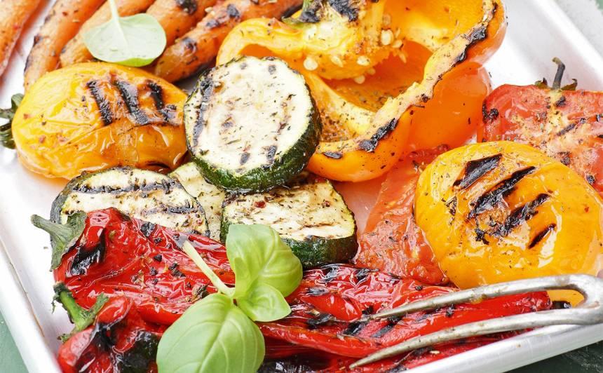 Grilēti dārzeņi ar garšvielām recepte