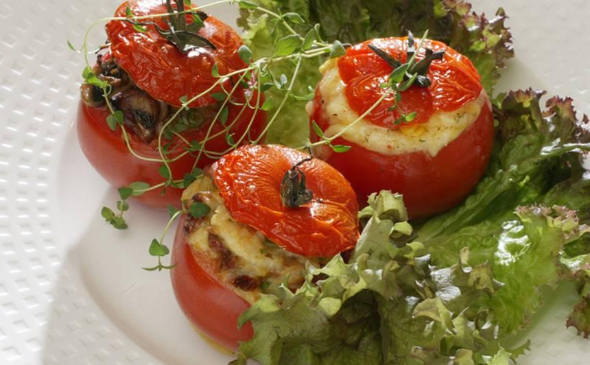 Pildīti tomāti ar kūpinātu zivi recepte