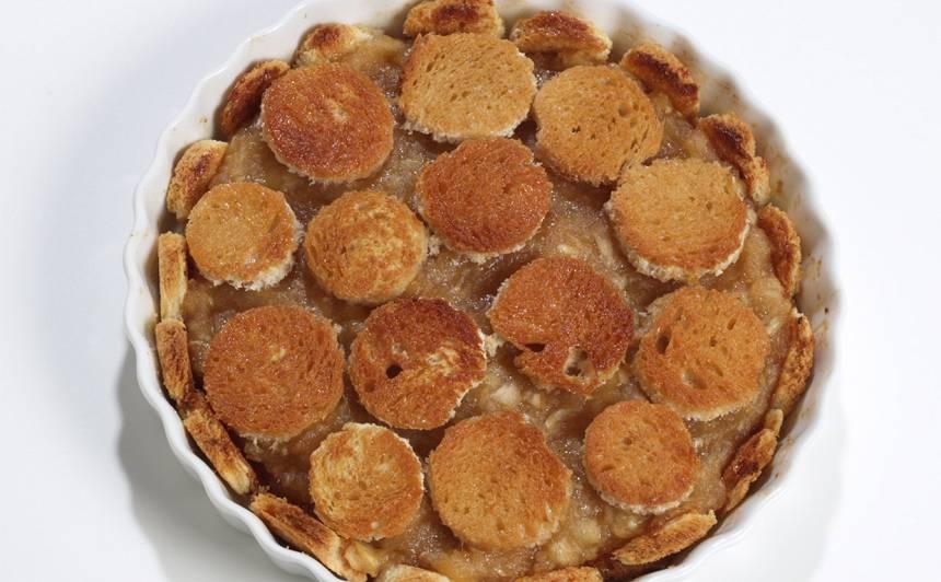 Karamelizētais ābolu pudiņš recepte