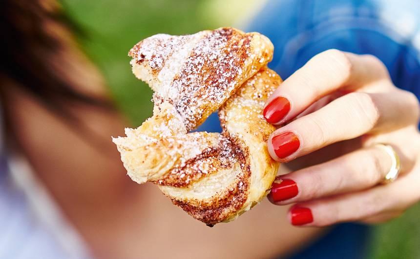 Vītās kanēļa maizītes receptes