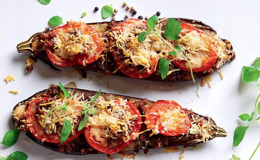 Cepts baklažāns ar malto gaļu un sieru recepte
