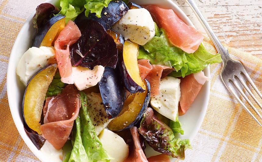 Salāti ar plūmēm receptes