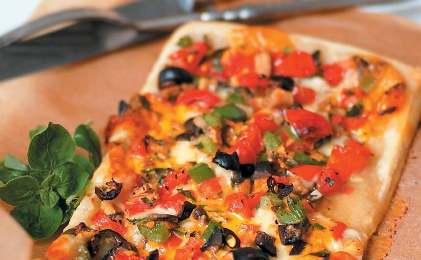Pica ar dārzeņiem recepte