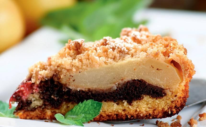 Bumbieru kūka ar plūmēm recepte