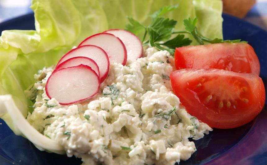 Ziedkāpostu salāti recepte