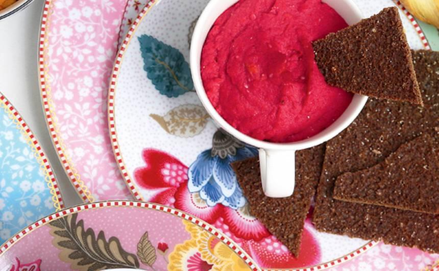 Sarkanais turku zirņu smēriņš recepte