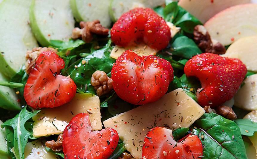 Sirsnīgie salāti recepte