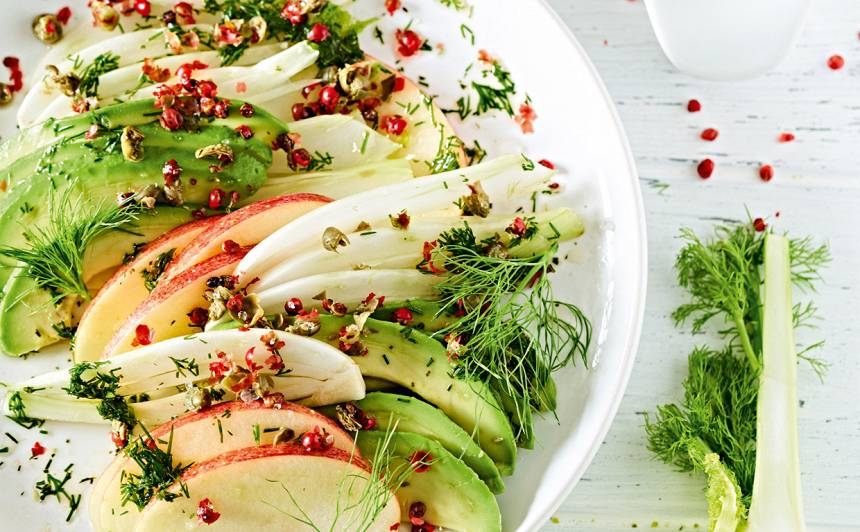 Fenheļa salāti ar ābolu