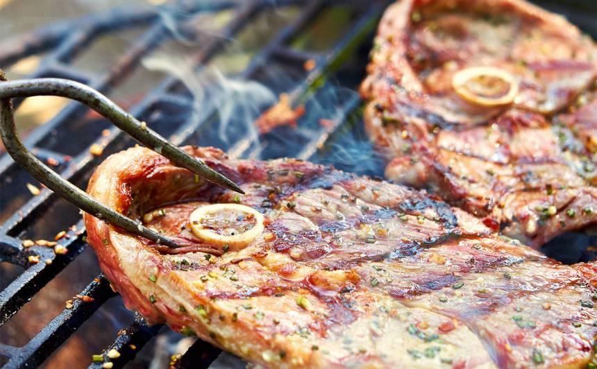 Grilēta jēra steiki recepte