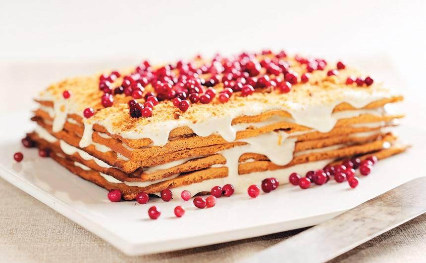 Medus kūka recepte