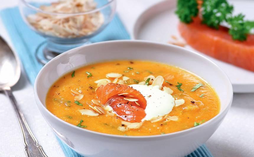 Burkānu zupa ar lasi recepte