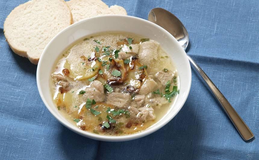Ceptu kartupeļu zupa recepte