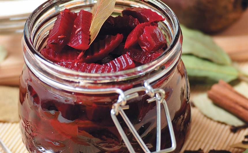 Galda bietītes marinādē recepte