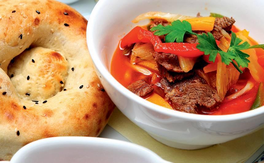 Lagman - uzbeku nūdeļu zupa recepte