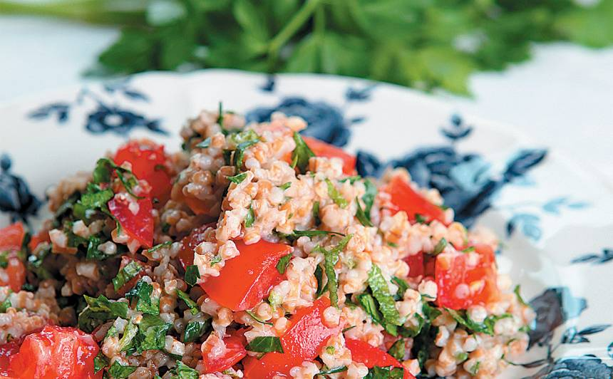 Kviešu putraimu salāti recepte