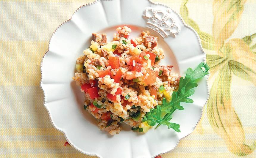 Salāti ar putraimiem recepte