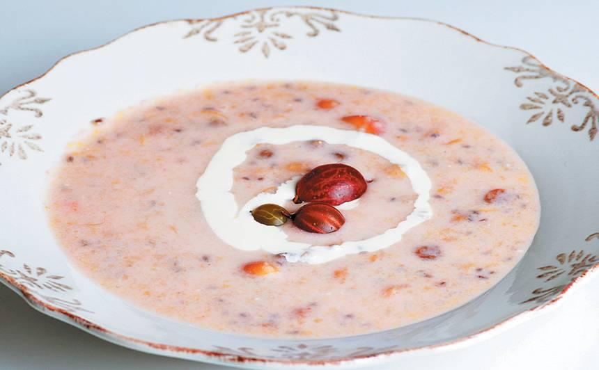 Ērkšķogu zupa recepte