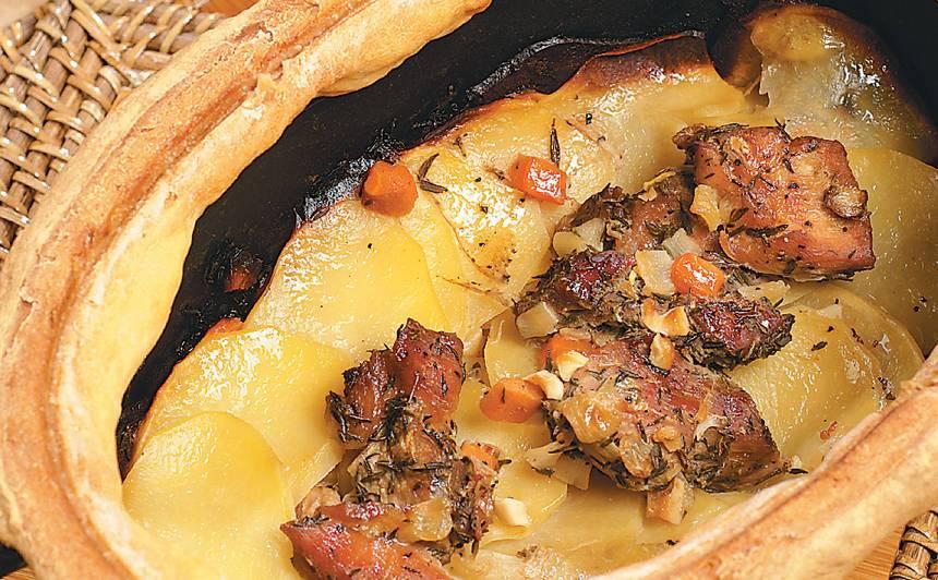 Kartupeļu sacepums ar gaļu