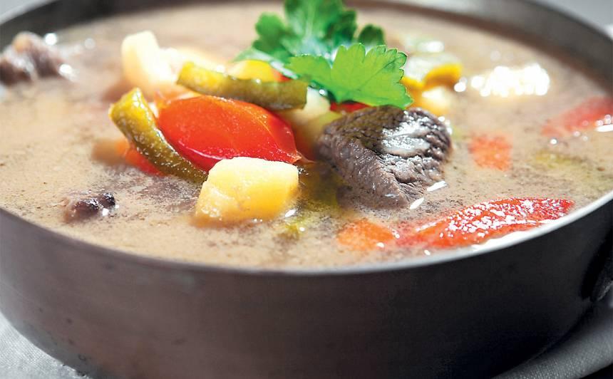 Gulaša zupa (Ungārija) recepte