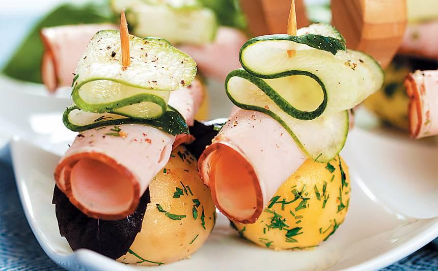 Kartupeļu uzkoda recepte