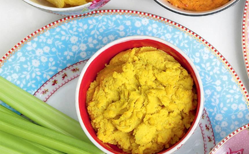 Dzeltenais humoss ar ziedkāpostu recepte
