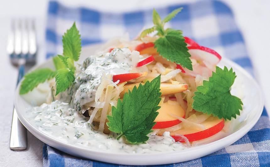 Dārzeņu salāti ar lakto receptes