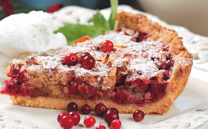 Brūkleņu kūka recepte