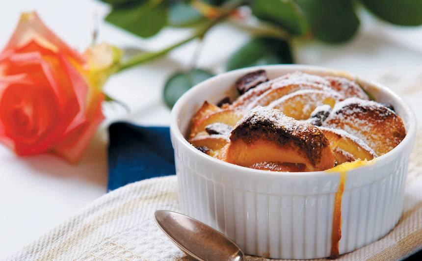 Baltmaizes un ābolu sacepums recepte