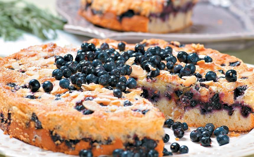 Melleņu kūka recepte