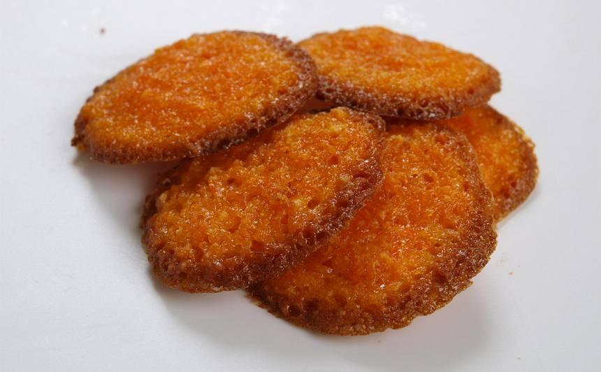 Saldie burkānu cepumi recepte