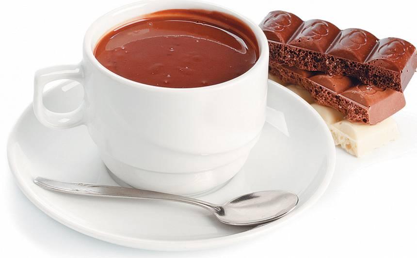 Karstā šokolāde recepte