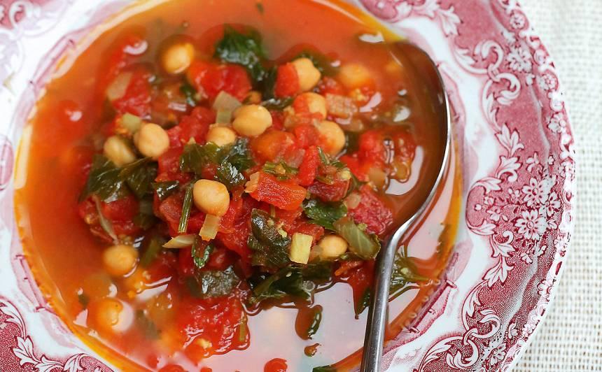 Turku zirņu un tomātu zupa