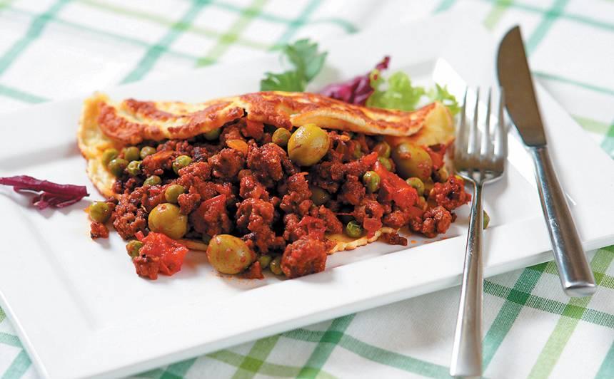 Pankūka ar maltās gaļas pildījumu recepte