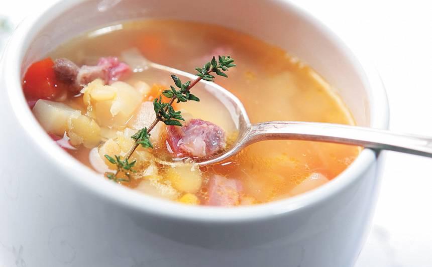 Šķelto zirņu zupa recepte