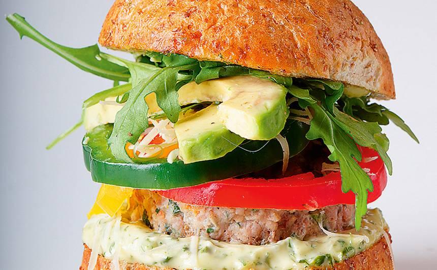 Tītara burgers