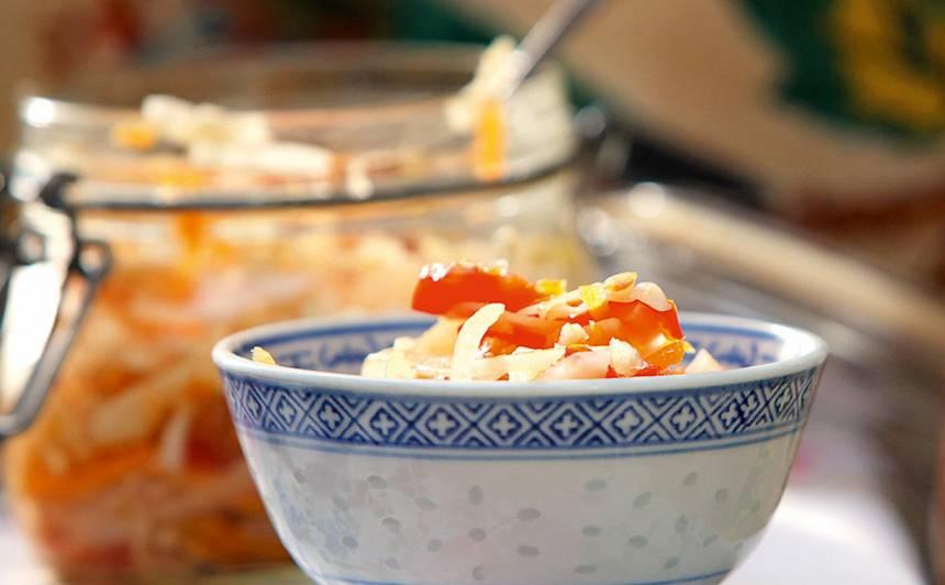Rudens vitamīnu salāti recepte