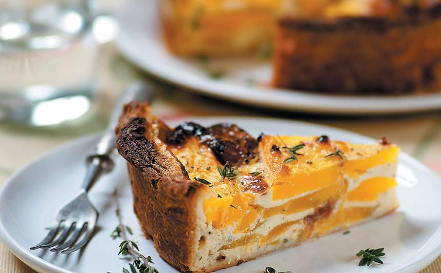 Ķirbja kūka ar kausēto sieru