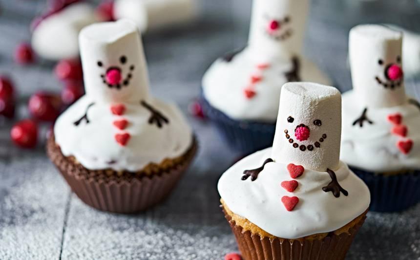 Glazūrkēksiņu sniegavīri recepte